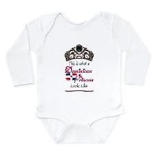 Dominican Princess - Long Sleeve Infant Bodysuit