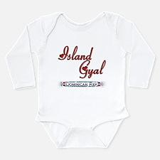 Island Gyal - Long Sleeve Infant Bodysuit