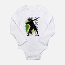 Cute Lightning bolts Long Sleeve Infant Bodysuit