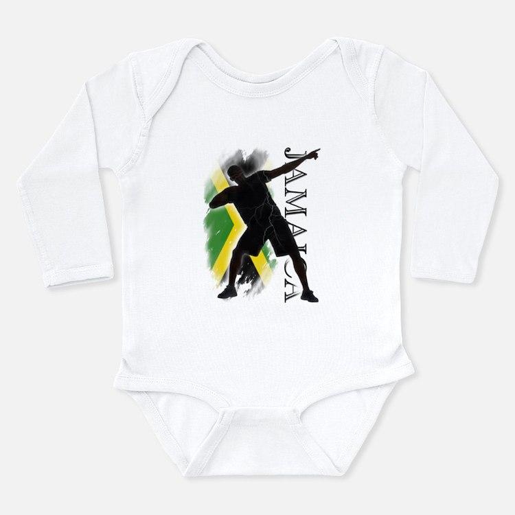 Cute Bolt Long Sleeve Infant Bodysuit