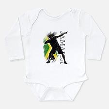 Cute Jamaican Onesie Romper Suit