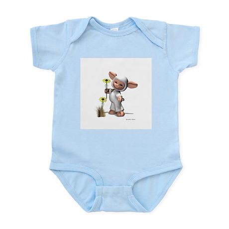 Mary Had A Little Lamb, Infant Bodysuit