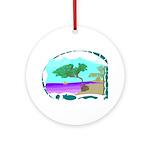 Ocean Calm Ornament (Round)