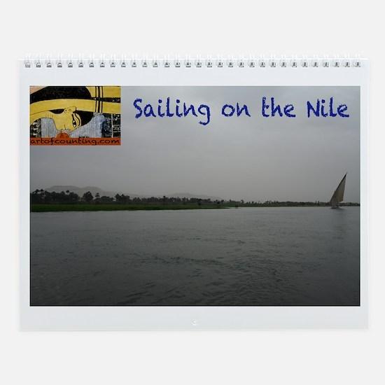 Sailing on the Nile--Wall Calendar