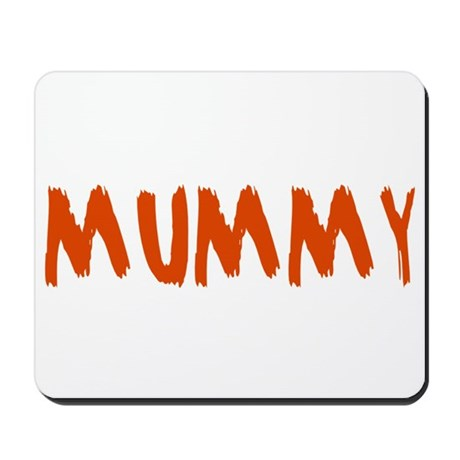Mummy and Deady (Mommy Daddy) Mousepad