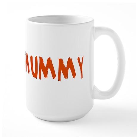 Mummy and Deady (Mommy Daddy) Large Mug