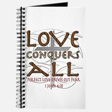 Love Conquers All Journal