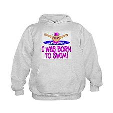 Born to Swim Madison Hoody