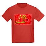 Hand to Heart Kids Dark T-Shirt