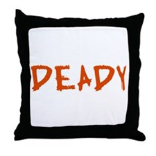 Mummy and Deady (Mommy Daddy) Throw Pillow