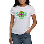 Vivid Colors on Women's T-Shirt