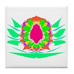 Vivid Flower Tile Coaster