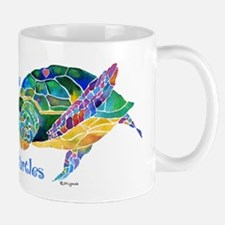 Beautiful Graceful Sea Turtle Mug