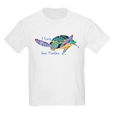Beautiful Graceful Sea Turtle T-Shirt
