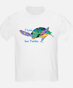 Beautiful Graceful Sea Turtle T-Shirt