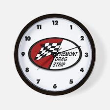 Fremont Drag Strip Wall Clock