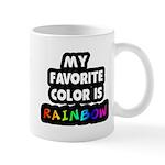My favorite color is rainbow Mug