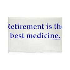 Retirement Rectangle Magnet