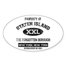 Property of Staten Island Decal