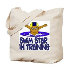 Swim Star in Training Ethan Tote Bag