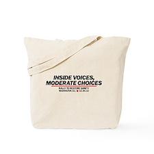Inside Voices Black Tote Bag