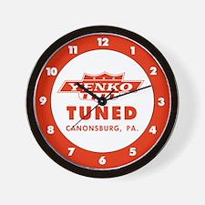 Yenko Tuned Wall Clock