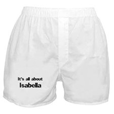 It's all about Isabella Boxer Shorts