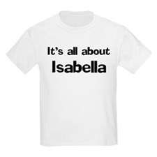 It's all about Isabella Kids T-Shirt