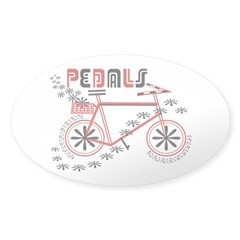 Pedals Cyclist Decal