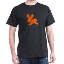 Rabbit O Black T-Shirt