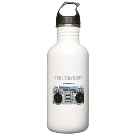 Feel the Beat Stainless Water Bottle 1.0L