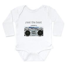 Feel the Beat Long Sleeve Infant Bodysuit