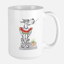 Great Dane Spit! Melon HARLE Mug