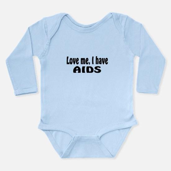 AIDS Long Sleeve Infant Bodysuit