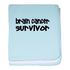Brain Cancer Infant Blanket