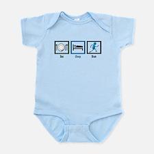 Eat Sleep Run Infant Bodysuit