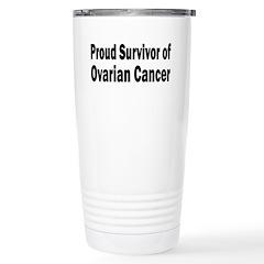 Ovarian Cancer Travel Mug