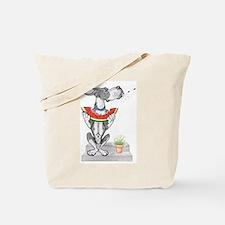 Great Dane Spit! Melon MANTLE Tote Bag