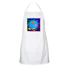 Peaceful Animal Kingdom Apron