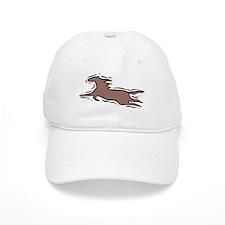 Running Horse Baseball Cap
