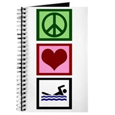Peace Love Swimming Journal