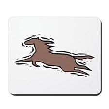Running Horse Mousepad