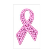 Pink Ribbon Jewels Bumper Stickers