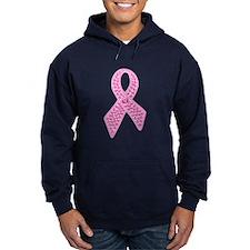Pink Ribbon Jewels Hoodie