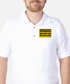 Does Not Play Well With Others Golf Shirt