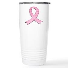 Pink Ribbon Cure Travel Mug