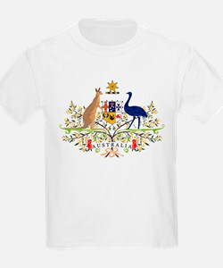 Australian Coat of Arms Kids T-Shirt