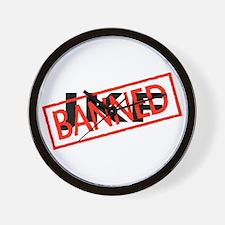 Banned JKF Wall Clock