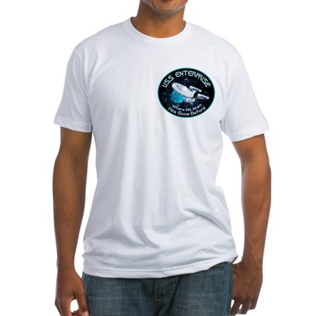 Star Trek Gone Before Fitted T-Shirt
