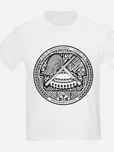 American Samoa Coat of Arms Kids T-Shirt